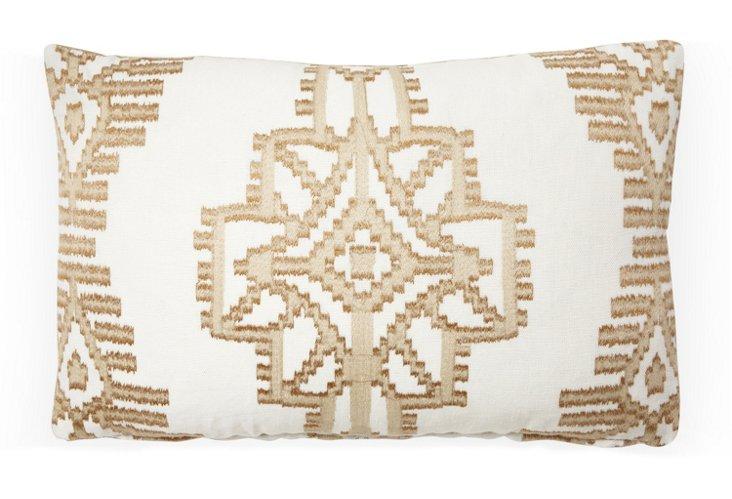 Tikal 12x18 Pillow, Clay