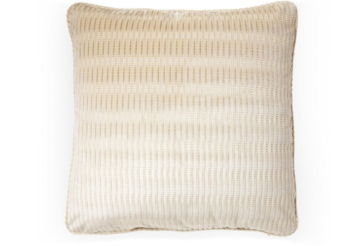 Tournai 20x20 Pillow, Olive/Tan