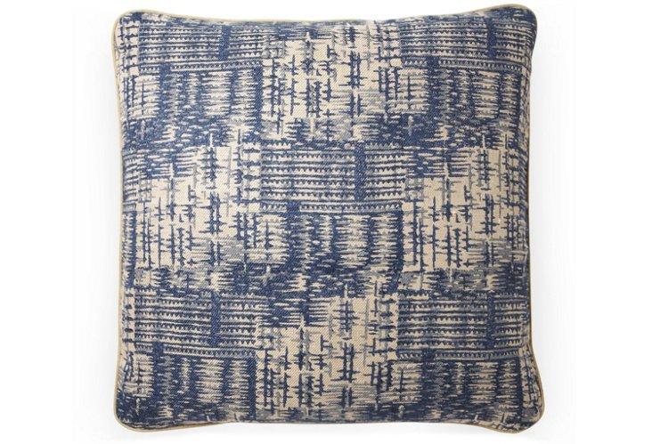 Rumba 20x20 Pillow, Indigo