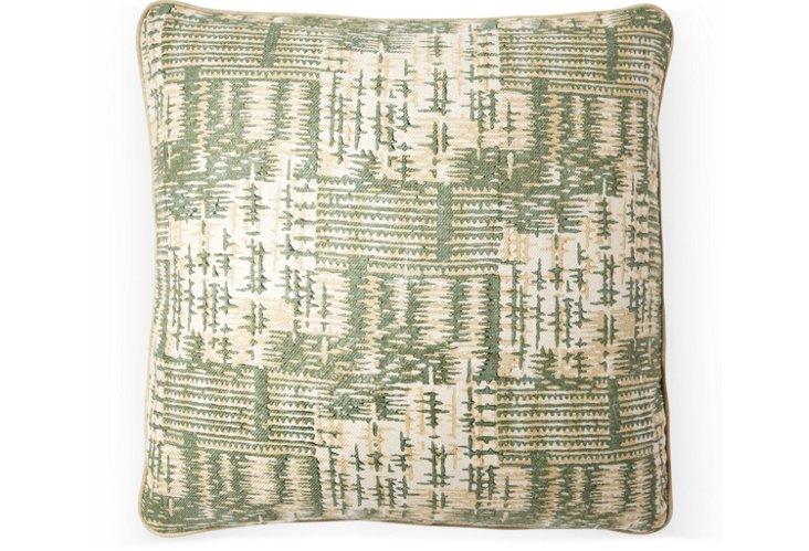 Rumba 20x20 Pillow, Jade