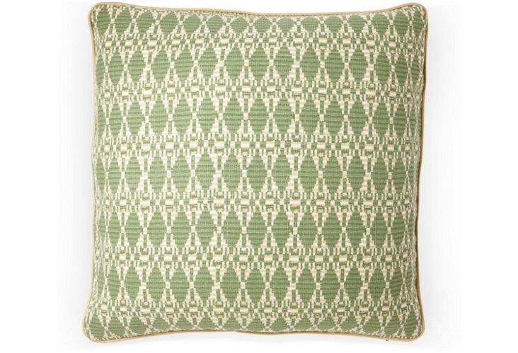 Kata 20x20 Pillow, Green