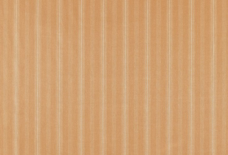 Casey Stripe Fabric, Saffron