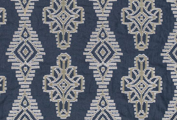 Tikal Fabric, Indigo