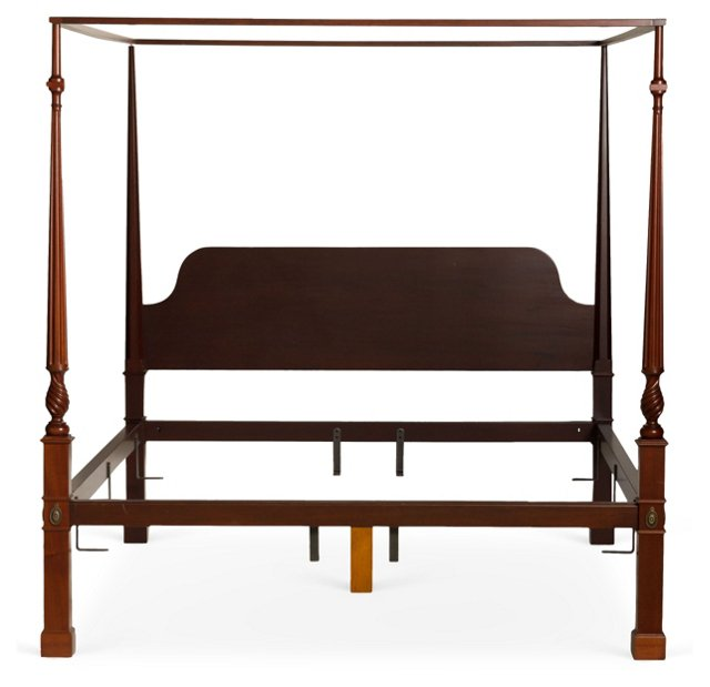 Goddard Chippendale Bed, Cal King