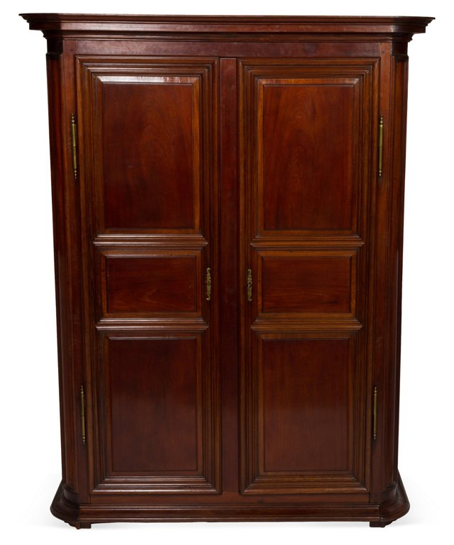 French Mahogany Armoire