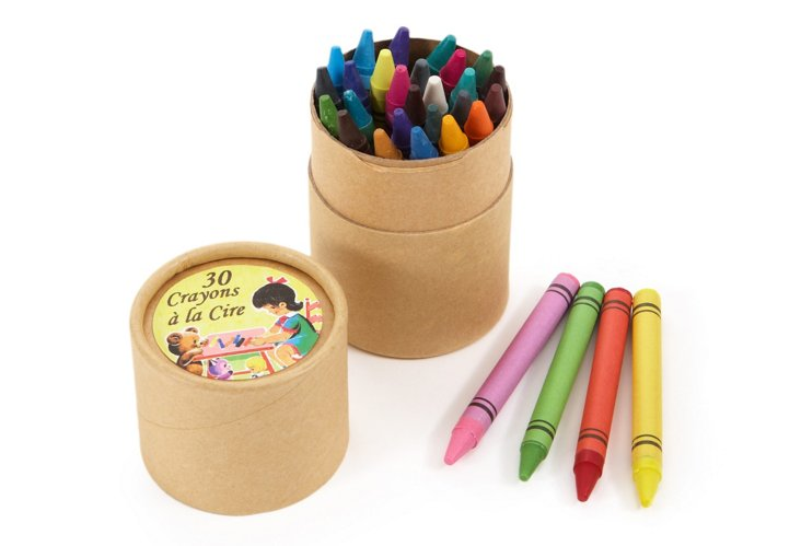 S/2 Tubes of 30 Wax Crayons
