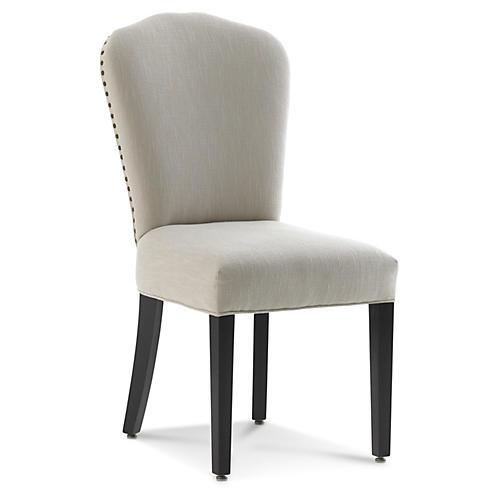 Owen Side Chair, Parchment