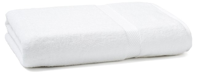 Merano Bath Sheet, White