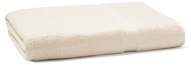 Bath Sheet, Cream