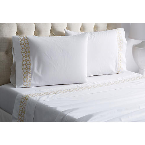 Julietta Sheet Set, Champagne