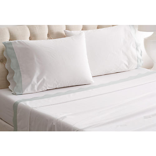 Katarina Sheet Set, Opal
