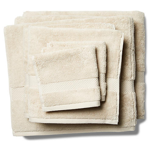 6-Pc Merano Towel Set, Khaki