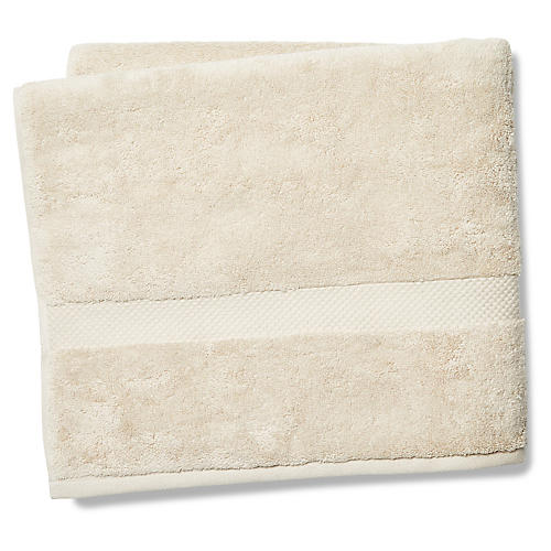 Merano Bath Towel, Khaki