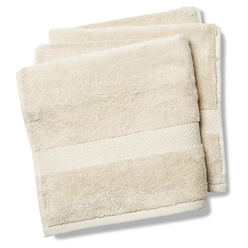 Merano Hand Towels, Khaki