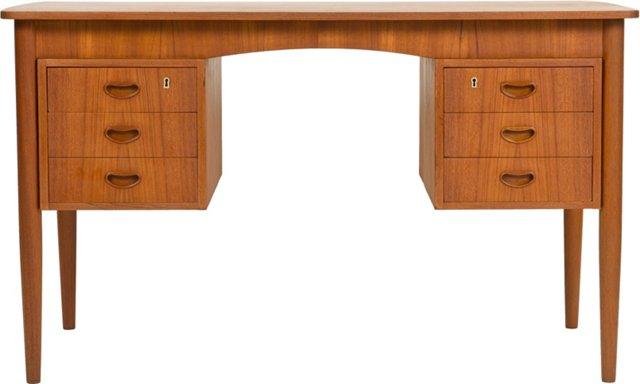 Danish Midcentury Teak Desk II