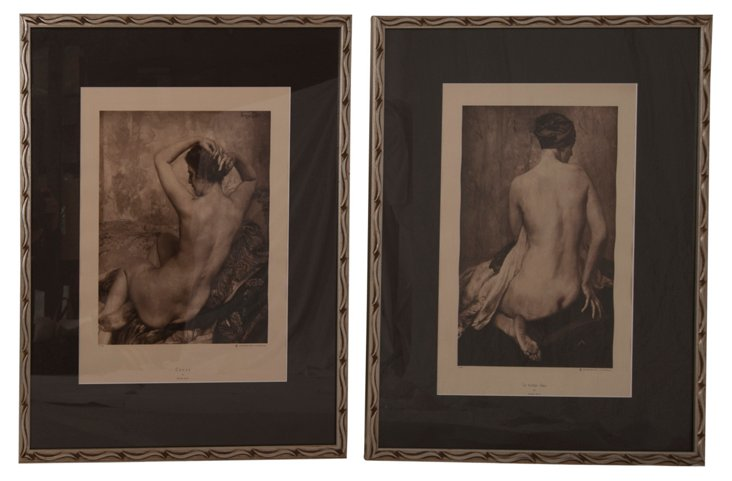 Nudes Prints, Set of 2