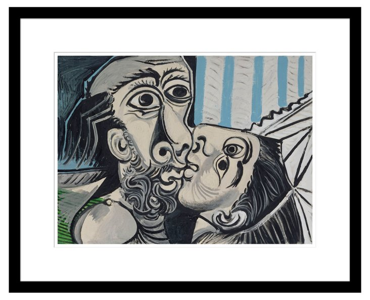 Picasso, The Kiss