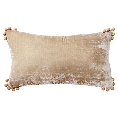 Omni 14x22 Lumbar Pillow, Taupe