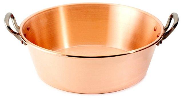 Cast Iron Jam Pan, Copper