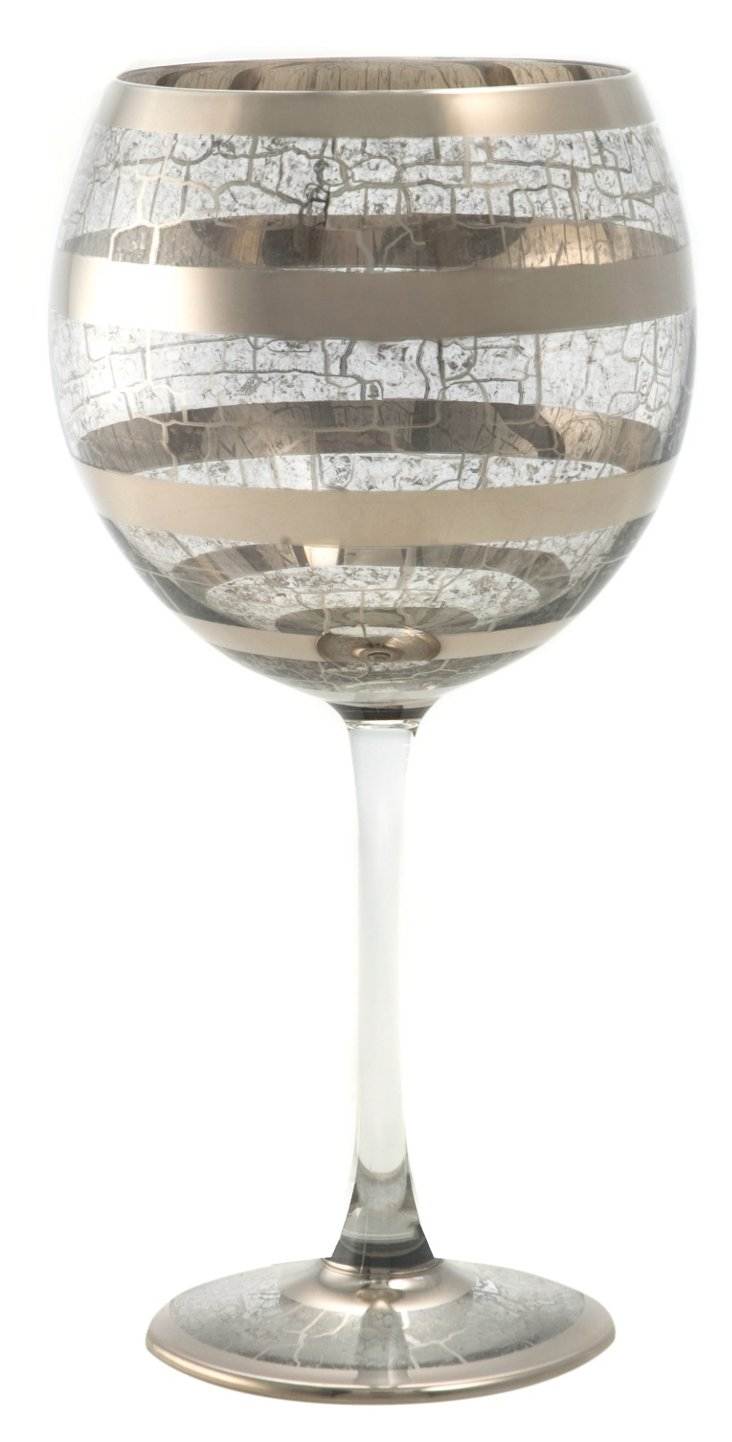 S/4 Byzantine Red-Wine Glasses