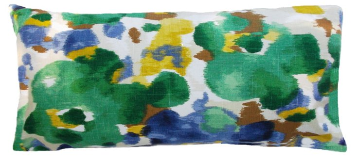Romantic 14x24 Cotton Pillow, Multi