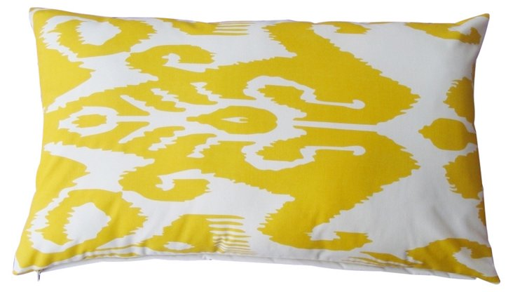 Starry 14x24 Outdoor Pillow, Yellow