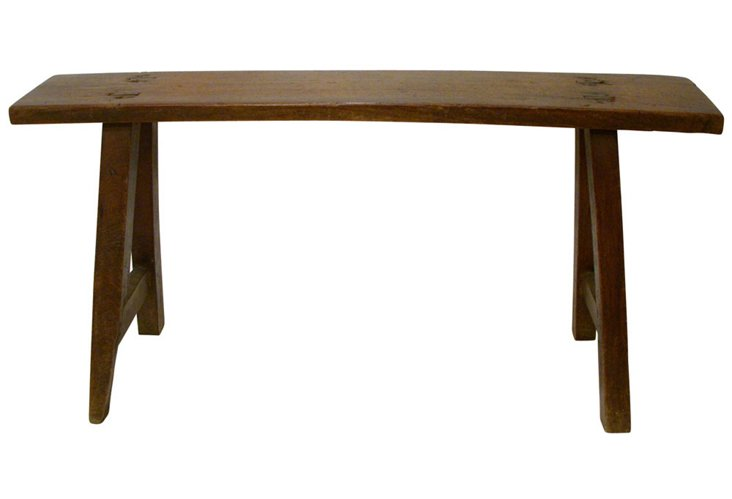 Antique Asian Bench