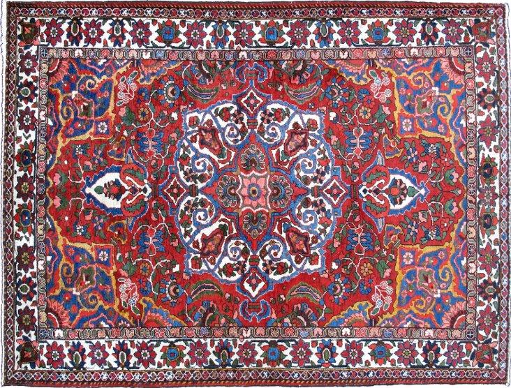 """Persian Bakhtiari, 8'2"""" x 5'4"""""""