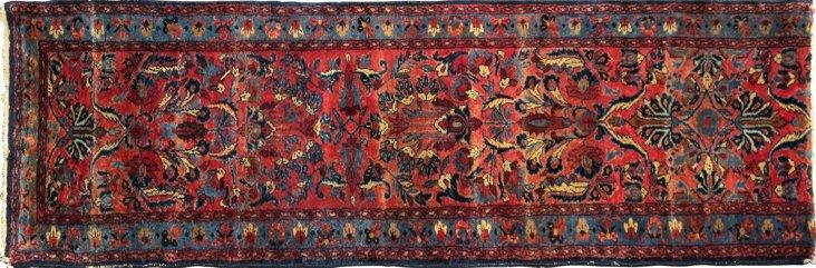"""Antique Persian Lilihan , 8'5"""" x 2'8"""""""