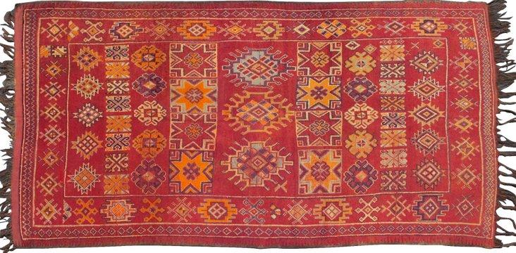 "Moroccan Rug, 10' x 5'4"""