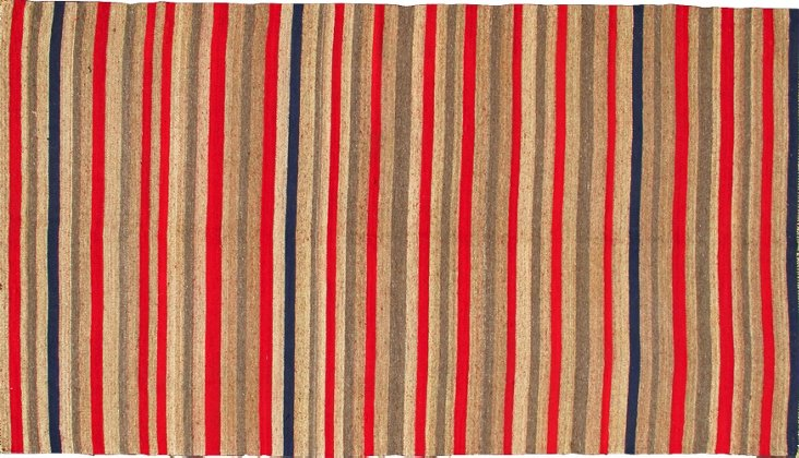 Turkish Kilim, 9' x 4'8""