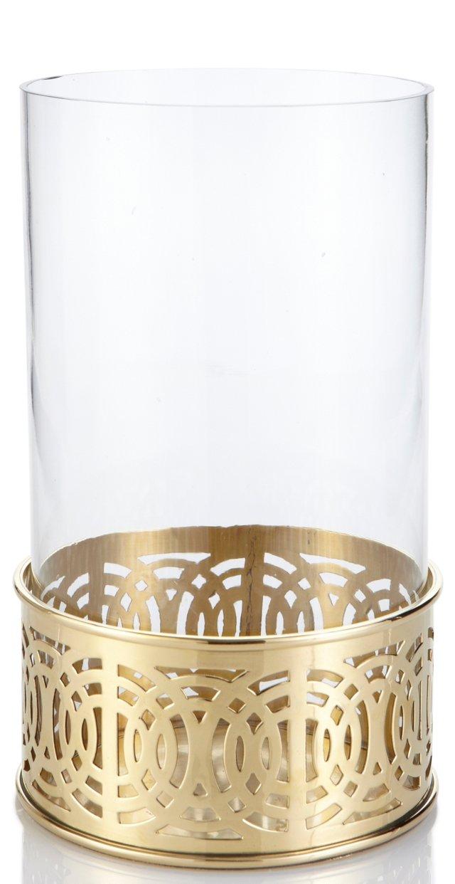 Vishnu Pillar Holder, Gold
