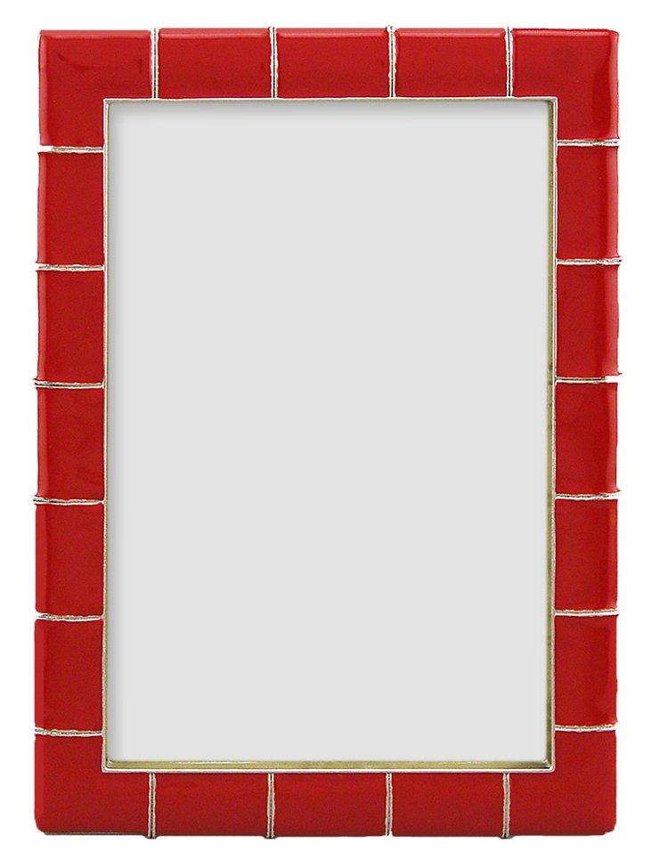5x7 Marlene Frame, Red