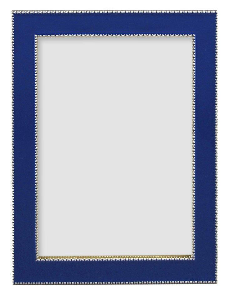Beaded Frame, 8x10, Cobalt