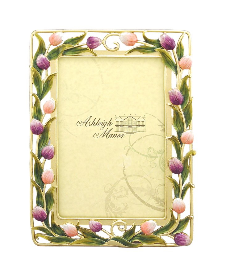 Tulip Wreath Frame, 4x6