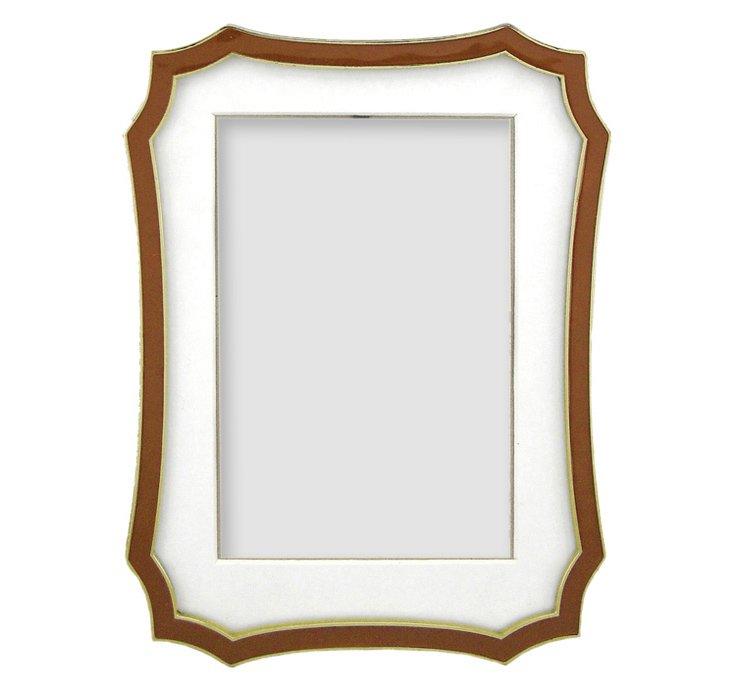 Octagon Amber Frame, 3x3