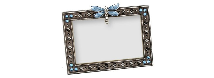 Petite Dragonfly Frame, Blue