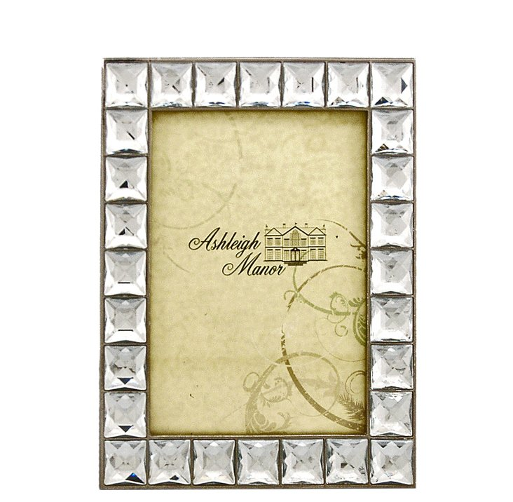 "Reflections Frame, 4"" x 6"", Clear"
