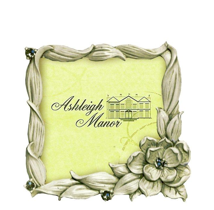 Bloom Frame, 3x3, Ivory