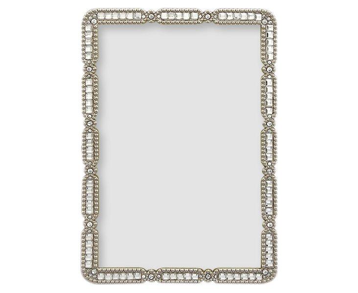 Nina Frame, 4x6, Silver