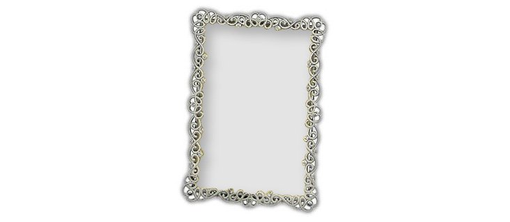 Couture Frame, 5x7, Pewter
