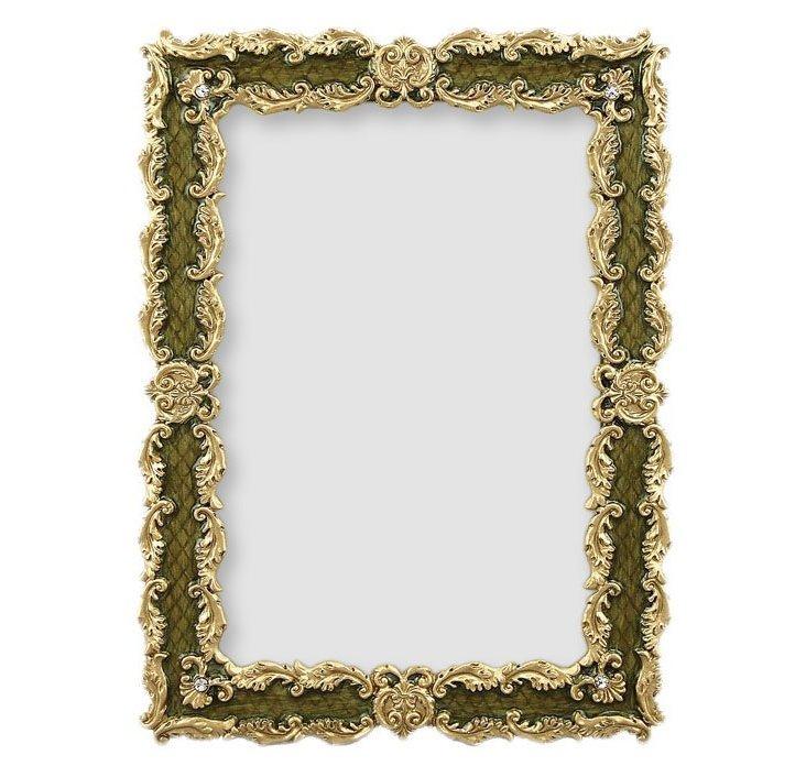 Sophisticate Green Frame, 4x6