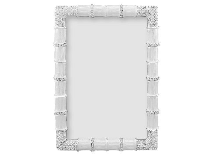 Tiffany Frame, 4x6, White