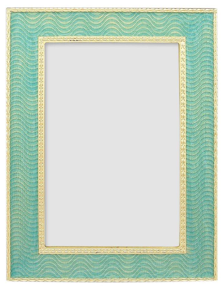 Pushkin Frame, 4x6, Pale Blue