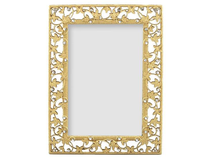 Tresses Frame, Gold, 4x6