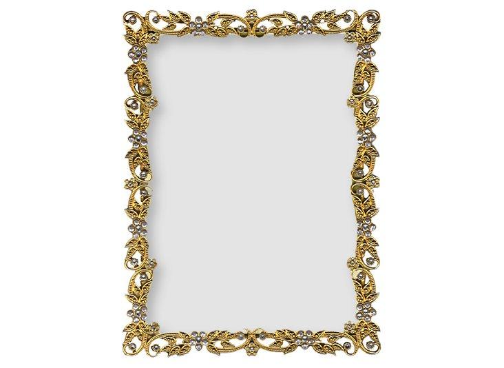Flaxen Frame, Gold, 5x7