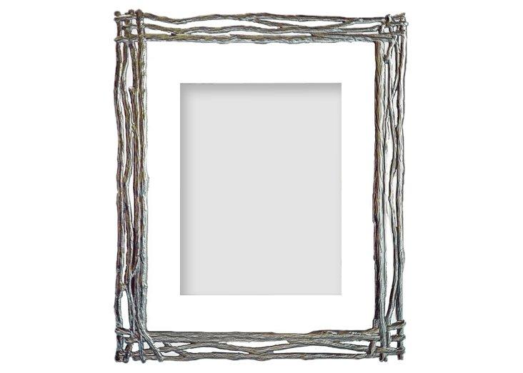 Twigs Frame, 8x10, Silver