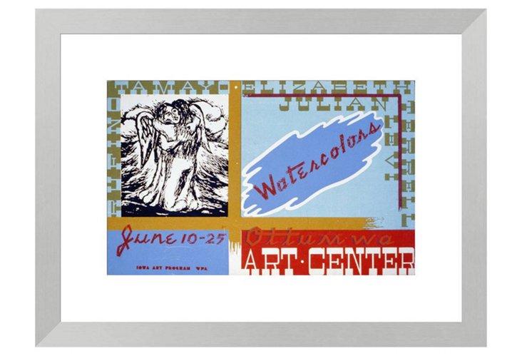 Watercolors Ottumwa Art Center