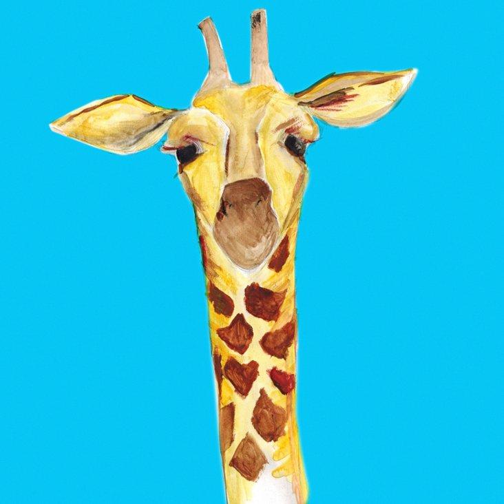 Lauren Rowinski, Blue Giraffe