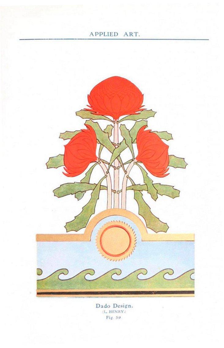 Dado Design, Figure 59 Framed Print